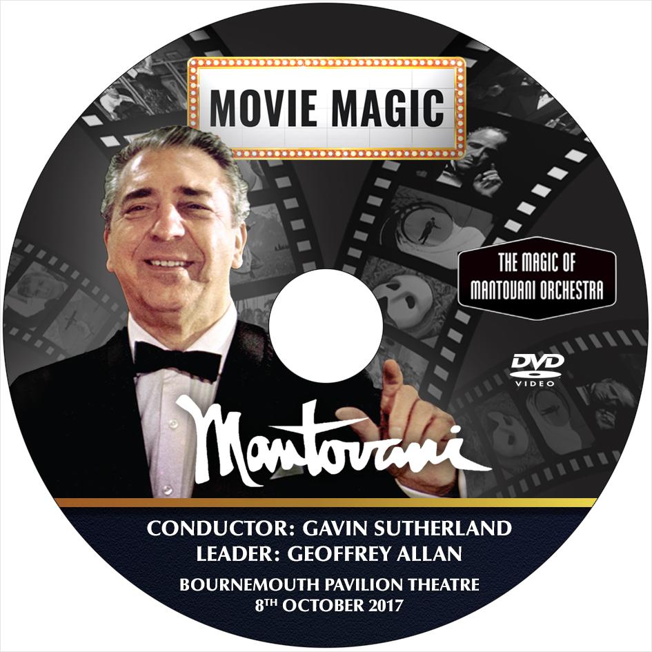 Mantovani Movie Magic DVD 2017 Concert