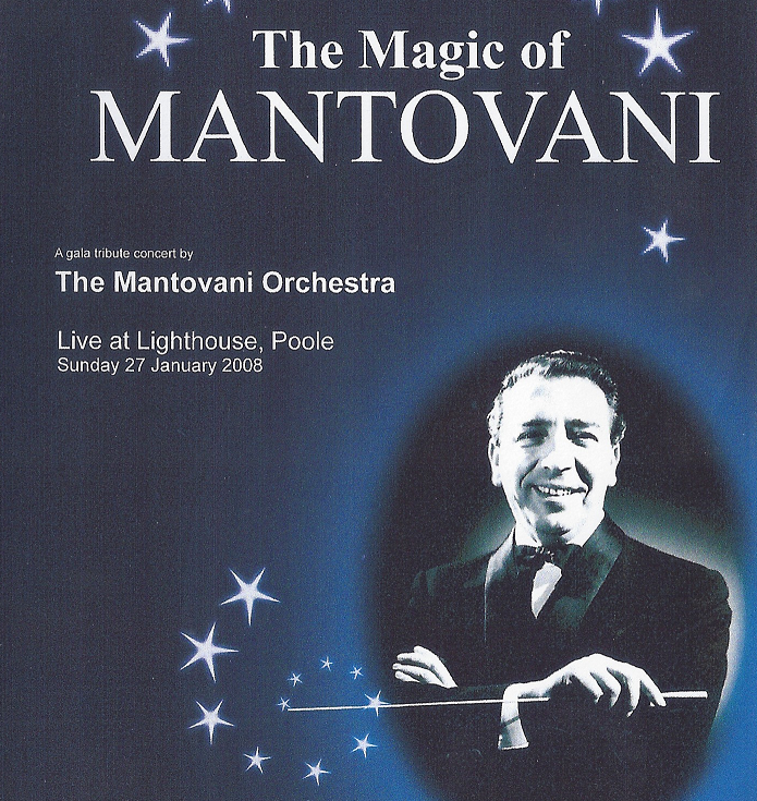 Double CD The Magic of Mantovani