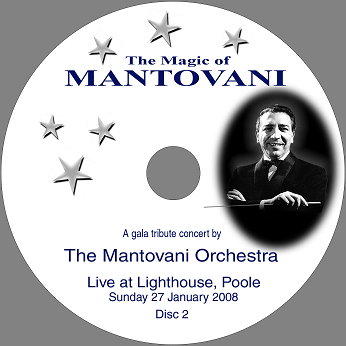 Magic Disc DVD - Magic of Mantovani